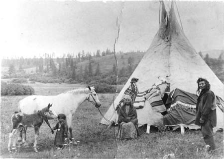 Nez perce wedding